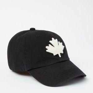 Roots Canada Cotton Fabric Adjustable Baseball Hat